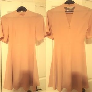 H&M pink Skater dress in Size 4